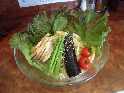 ぶっかけ冷麺 2009塩Ver. 鶏と旬野菜 目黒屋.jpg