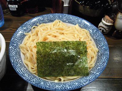辛つけ麺(ピリ辛)大盛り 平打ち麺 花みずき.jpg