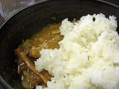 カレーつけ麺 メシ割り 大勝軒牛久.jpg