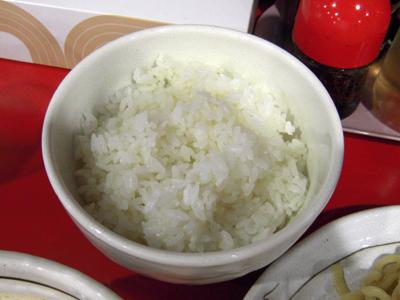 担々つけ麺(辛口)+小ライス 小ライス 桃天花.jpg