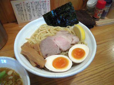 味玉つけ麺 大盛り 麺 GENTEN.jpg