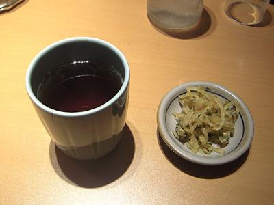 お茶+たくあん やよい軒町屋.jpg