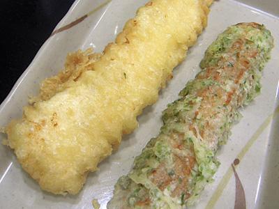 きつねうどん(中) 天ぷら2種 はなまるうどん+カレー仲御徒町.jpg