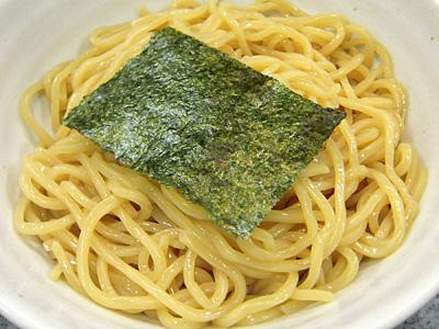 つけ麺定食 麺 山橙.jpg