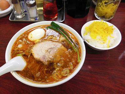 タンタン麺(中辛)+サービスライス 竹子本郷.jpg