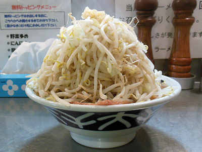 ラーメン(野菜多め+にんにく) 横 大堀切.jpg