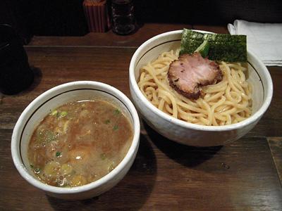 地鶏の味玉付きつけ麺(中盛り) APPLE BASIC.jpg