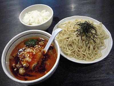 担々つけ麺+小ライス 桃天花.jpg