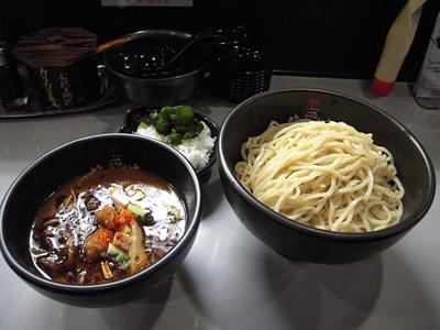 極辛BLACKつけ麺(並盛り) 七代目けいすけ.jpg