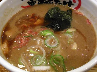 濃厚エビつけ麺(大盛り) つけ汁 福たけ市原.jpg