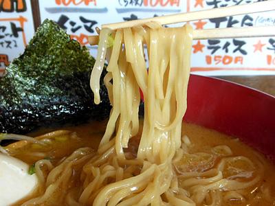 濃厚醤油味玉ラーメン(大盛り) 麺 うづまき.jpg