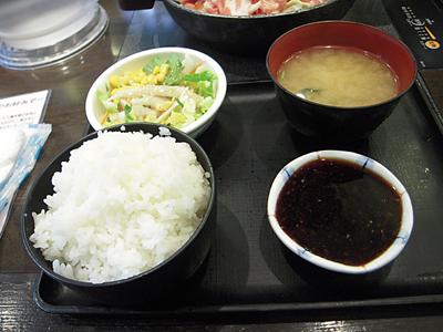 豚肉のしょうが焼き ライスセット 正直な食堂蔵前.jpg