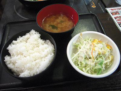 豚肉のカルビ焼 ライスセット 正直な食堂蔵前.jpg