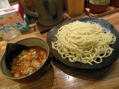 辛つけ麺(大盛り) ごんろく水道橋.jpg