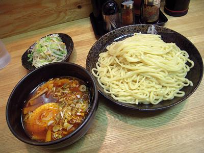 辛つけ麺(大盛り)+野菜 きくちゃん.jpg