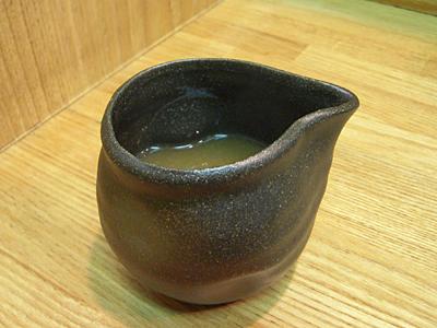 辛つけ麺(大盛り)+野菜 スープ割り きくちゃん.jpg