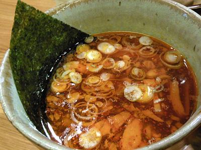 辛味つけ麺(大盛り) つけ汁辛味W 利平.jpg