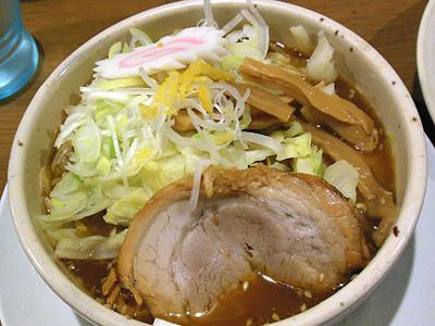 野菜つけ麺(中盛り) つけ汁 あら田.jpg