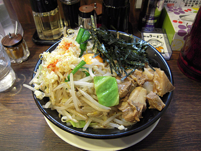 汁無し野郎(焼き野菜・にんにく・カエシ) 野郎ラーメン.jpg