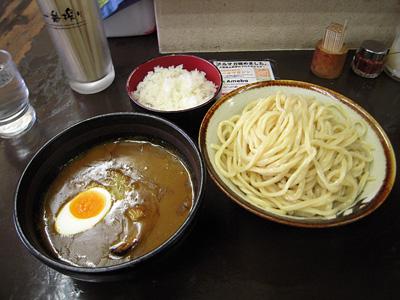 カレーつけ麺+小ライス 大勝軒牛久.jpg