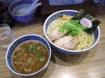 豚骨魚介つけ麺(大盛) 檜庵赤羽.jpg
