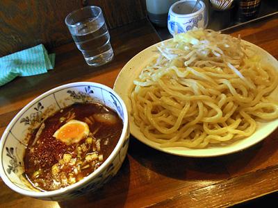 つけそば(多め)+野菜 池谷精肉店.jpg
