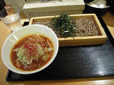 つけ蕎麦 鶏あっさり(大盛り) 安土.jpg