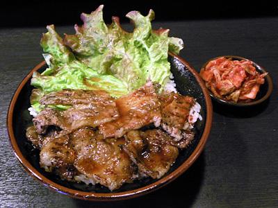 カルビ丼(大盛り) たどん秋葉原.jpg