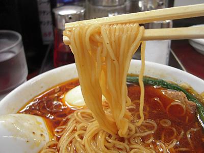サンラー麺(中辛) 麺 竹子本郷.jpg