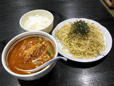 胡麻カレーつけ麺+小ライス 桃天花.jpg