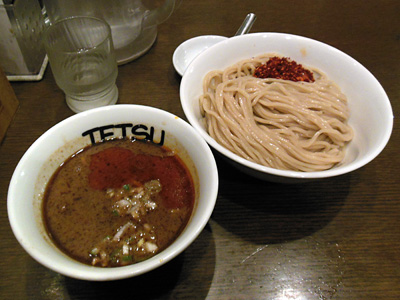 辛つけめん(大盛り) TETSU品川.jpg