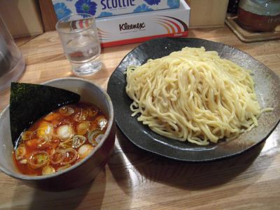 辛味つけ麺大盛り 辛味W やすべえ練馬.jpg